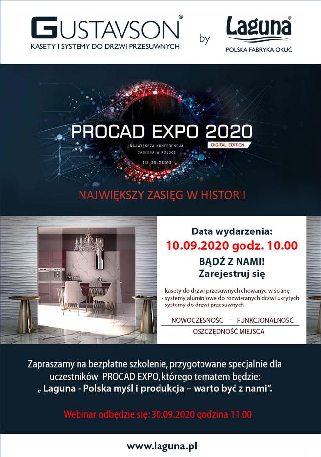 PROCAD EXPO 2020 – zapraszamy na konferencję online!